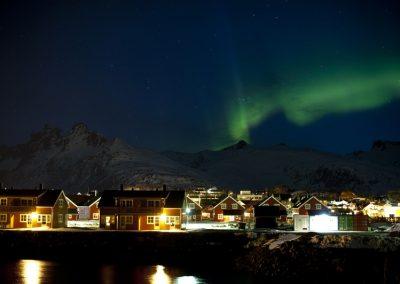 Vive de Pleno la Aurora Boreal