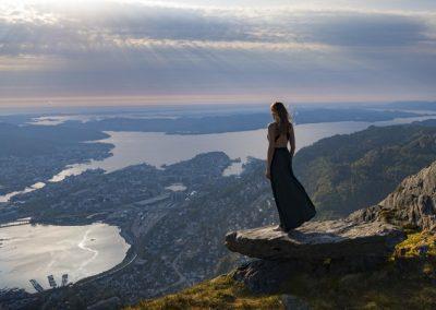 Disfruta de Grandes Vistas de Bergen