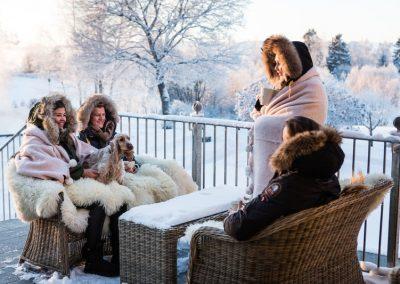 Reconfórtate del Invierno Noruego en el Hotel