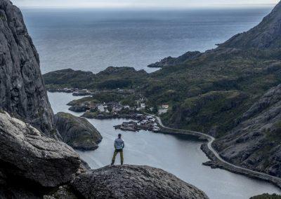 Vista Panorámica de las Islas Lofoten