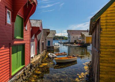 Casas de Colores en Noruega