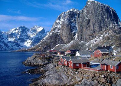 Las Famosas Casas de las Islas Lofoten