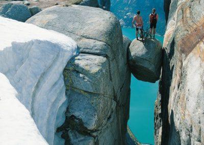 Kjerag, la roca colgante de Lysefjord