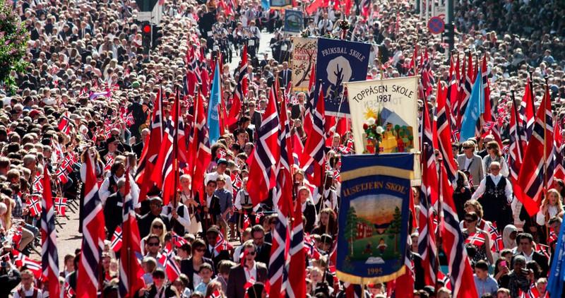 Fiesta del 17 de Mayo en Oslo