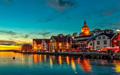 Stavanger desde las alturas